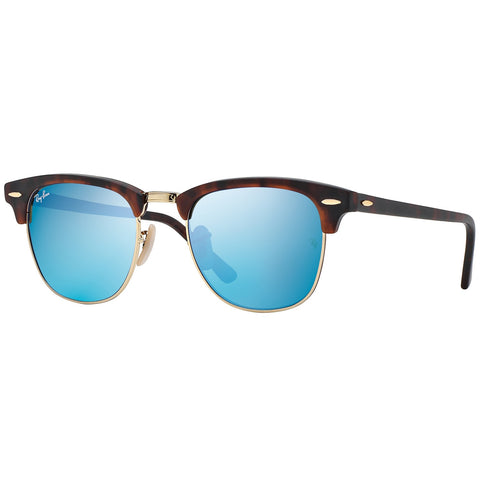 Ray-Ban Clubmaster Flash Lenses Tortoise, RB3016 49mm