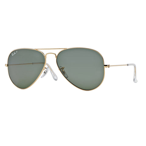 Ray-Ban Aviator Classic Gold, Polarized Lenses - RB3025