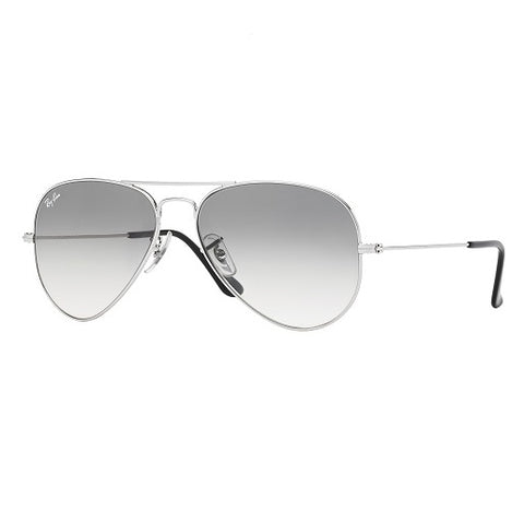 Ray-Ban Aviator Gradient Silver, RB3025 58mm