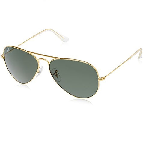 Ray-Ban Aviator Classic Gold - Green Classic G-15, RB3025 58mm