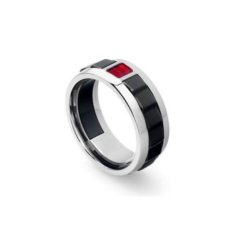 Tonino Lamborghini Il Primo Men's Ring - Size 11
