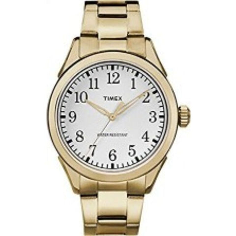 Timex Men's TW2R10000 Briarwood Goldtone Bracelet Watch