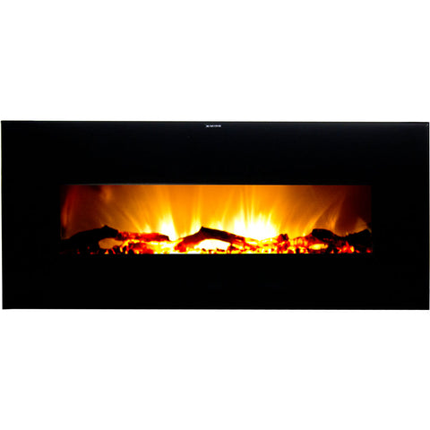 Warm House Valencia Widescreen Wall-Mounted Electric Fireplace with Remote Control