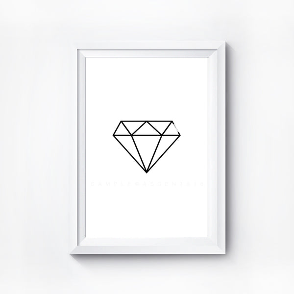 Diamond Digital Print