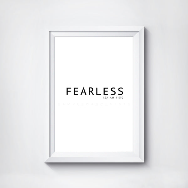 Fearless Digital Print