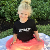 Royalty Children's Tee (Black)