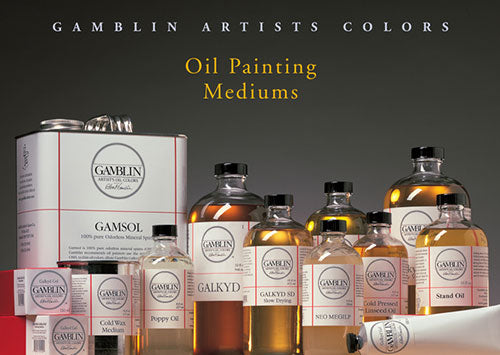 Oil Painting Mediums