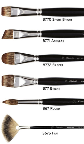 Raphaael Kevrin Moongoose Brushes