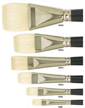 102B Art basic bright long handle brush