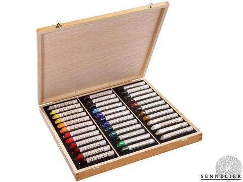 Sennelier Oil Stick 36 Set Assorted
