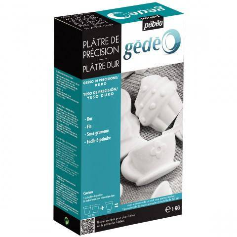 Gedeo Precision Plaster or Hard Plaster 1kg