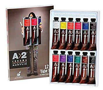 A2 Student Acrylic Paint Sets