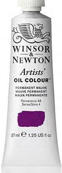 Winsor & Newton Artist Oil Paint 37ml. Yellows, Reds, Purples, Blues, Greens.