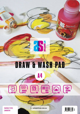 Art Spectrum Draw & Wash Pad SMOOTH