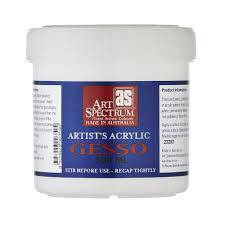 Art Spectrum Artist Gesso for Oil or Acrylic Painting