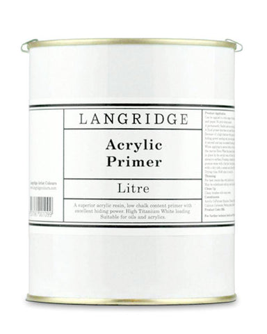 Langridge Artist Oil Acrylic Primer