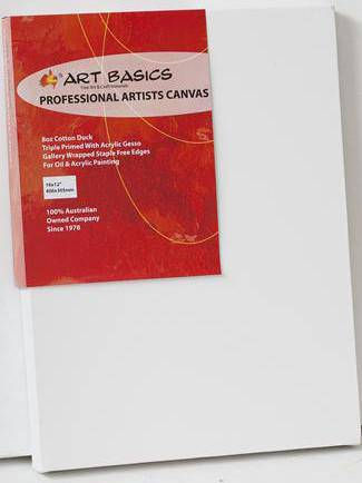 PROFESSIONAL Pre Stretched Artist Canvas