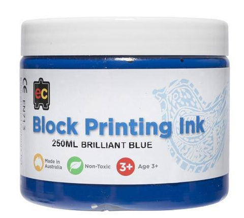 Educational Colours Block Printing Inks 250ml