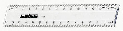 Celco Clear Ruler