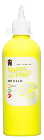 Fabric And Craft Paint Fluorescent 500ml