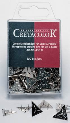Cretacolor 3 Prong Pins box 100