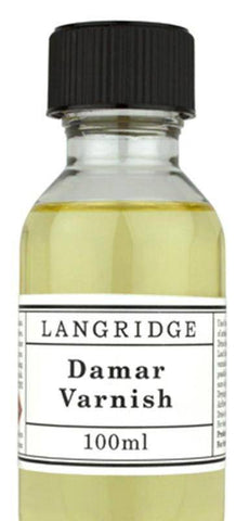 Langridge Artist Oil Damar Varnish