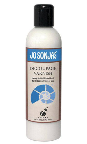 Jo Sonja 250ml Decoupage Varnish