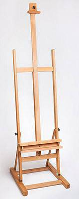 H Frame Studio Easel with Metal Ratchet