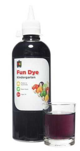 Educational Colours Fun Dye 500ml. - Food Dye