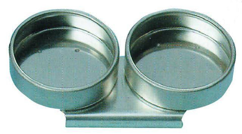 METAL DOUBLE DIPPERS 55MM NO LID