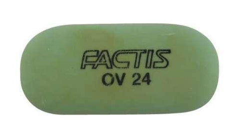 Factis Soft Oval Pencil Eraser OV24