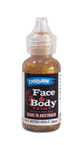 Derivan Face & Body Glitter Paint 36ml