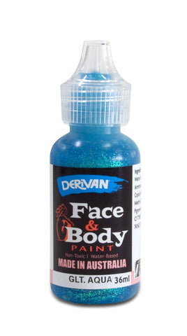 Derivan Facd & Body Glitter Paint 36ml