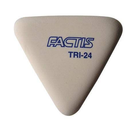 Factis Soft Triangular Pencil Eraser 24