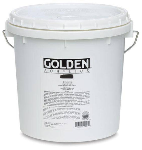 Golden Artist Acrylic Colours Black & White 3.78Lt