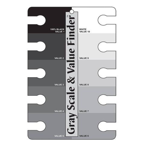 Grey Scale Colour Value Scale