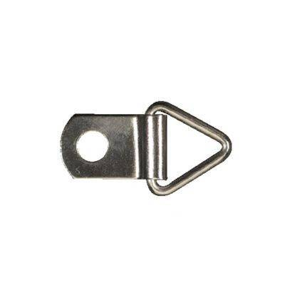 D-Ring zinc plated. Pack of 100