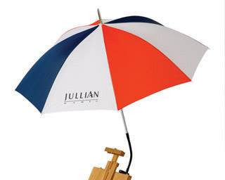 Jullian Painting Umbrellas