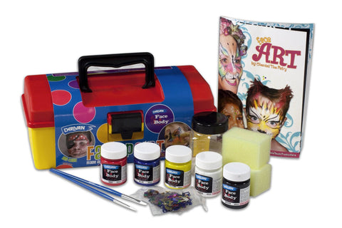 Derivan Face & Body Paint Tool Kit
