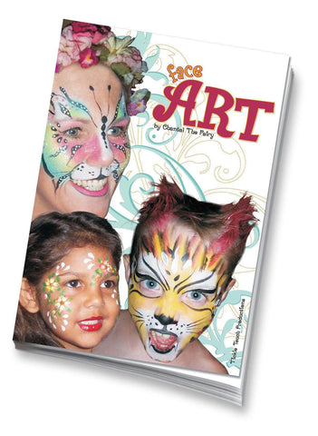 Face Art by Chantel The Fairy booklet