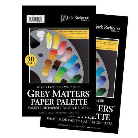 RICHESON Disposable Grey Matter Palettes