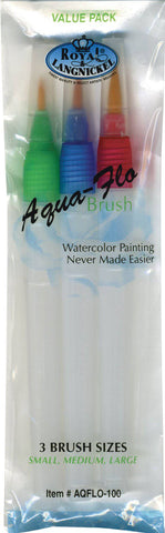 Royal Langnickel Aqua Flo Watercolour refillable brushes