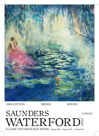 Saunders Watercolour Pads 300gsm A2
