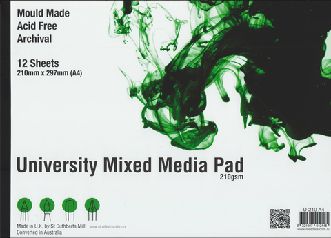 University Mixed Media Pads