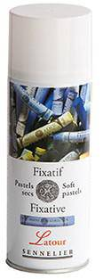 Sennelier Soft Pastel Fixative - LATOUR spray