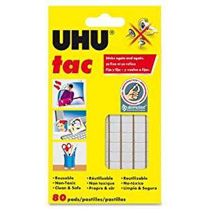 UHU TAC White Removable Adhesive 50g