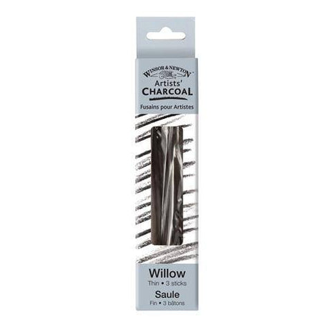 Windor & Newton Willow Charcoal Sticks Thin