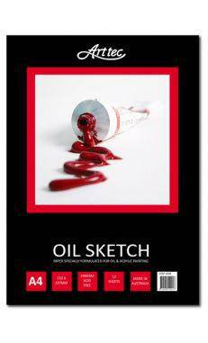 Arttec Oil Sketch Pads various sizes