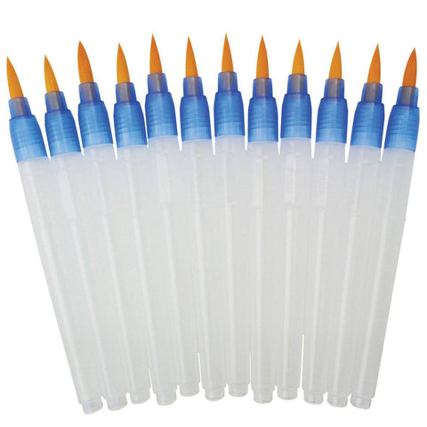 Royal Langnickel Aqua Flo Watercolour refillable brushes set of 12
