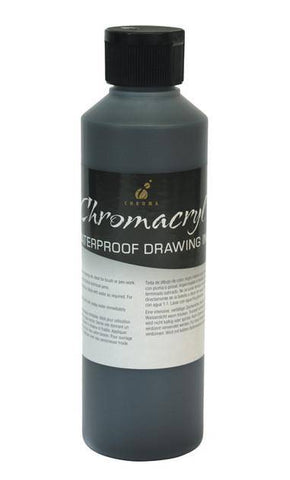 Chromacryl Waterproof Drawing Ink